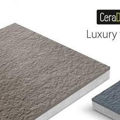 Keramiek met onderbouw van beton; Ceradeco
