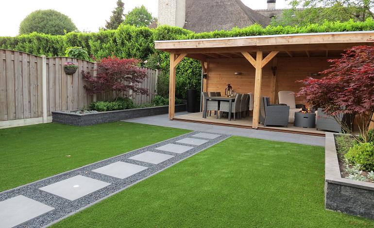 Aangelegde tuin Rucphen